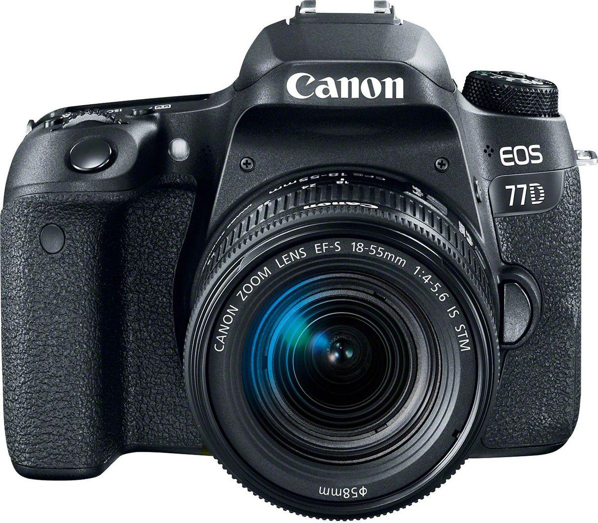 Canon EOS 77D Kit 18-55 IS STM цифровая зеркальная фотокамера1892C017