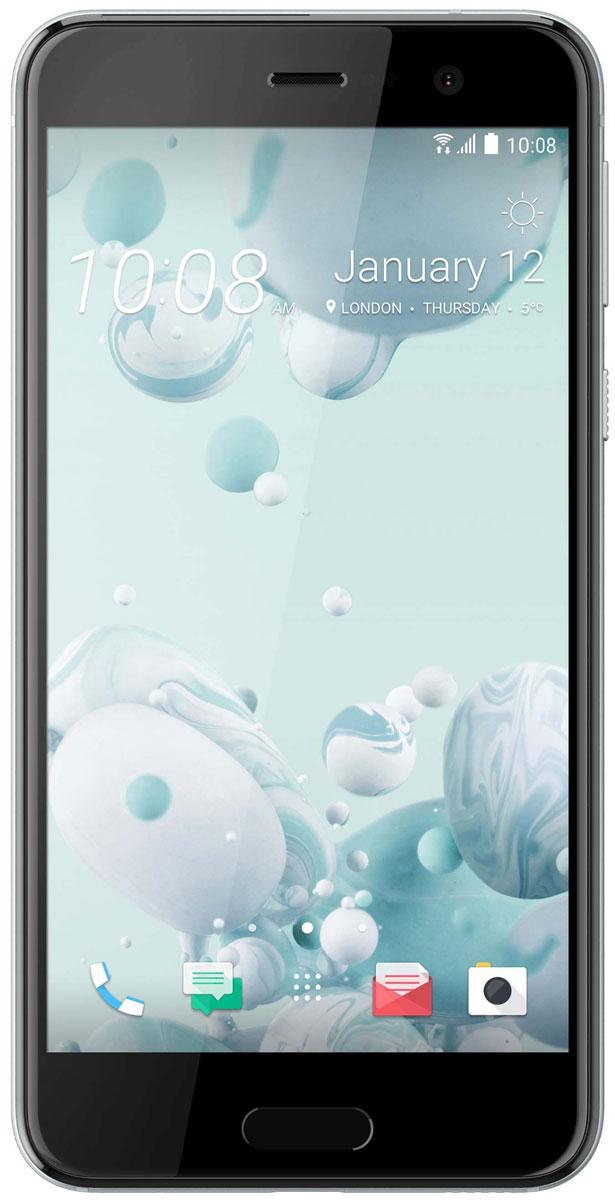 HTC U Play 32GB, Ice White99HALV045-00HTC U Play - удивительный смартфон с экраном 5,2, который с легкостью ляжет в вашу ладонь. Его уникальный переливающийся дизайн создан, чтобы дать тебе свободу самовыражения. HTC Sense Companion - верный спутник, который постоянно обучается вашим привычкам и действиям, которые вы совершаете каждый день. Он может посоветовать одеться потеплее и выехать на работу чуть раньше, если прогноз погоды указывает на возможность снегопада; он напомнит взять с собой внешний аккумулятор, если в ваших планах значится длительная поездка; он подскажет отличный ресторан в незнакомом городе и поможет забронировать столик. Но главное, он постоянно меняется и совершенствуется, со временем узнавая вас лучше. HTC U Play поставляется со встроенной системой распознавания речи. Поэтому он способен узнать ваш голос и ответить. Достаточно лишь слова, чтобы разблокировать телефон, послать сообщение или начать навигацию. Функция HTC USonic анализирует строение ушного канала с помощью...