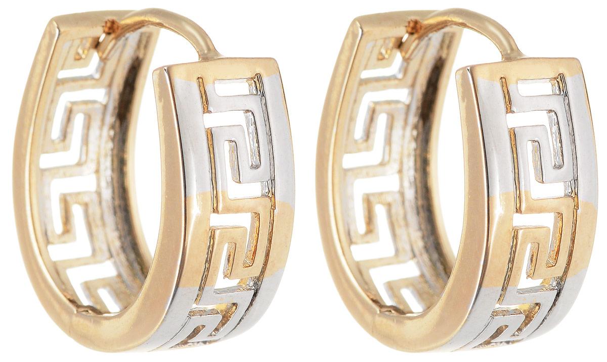 Серьги Taya, цвет: золотистый. T-B-11991T-B-11991-EARR-GOLDМодные позолоченные серьги Taya имеют французскую застежку. Модель оформлена сквозным узором.