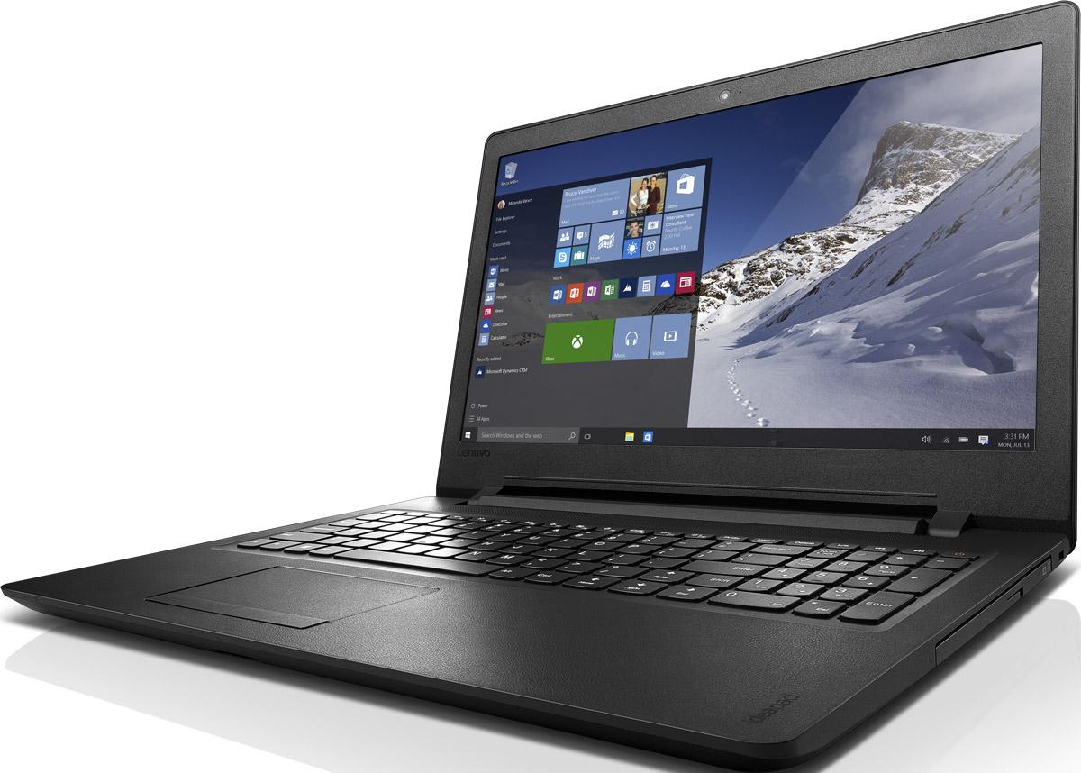 Lenovo IdeaPad 110-15ACL (80TJ00DDRK)80TJ00DDRKIdeapad 110 Laptop (15 AMD) Доступный 15,6-дюймовый ноутбук с процессором AMD Все необходимые характеристики в одном устройстве начального уровня: стабильная производительность, большой объем оперативной памяти и накопителя, высококлассный дисплей. Доступны комплектации с различными видеокартами. Особенности Windows 10 Домашняя Видеокарта на твой выбор Найди оптимальное соотношение между ценой и графическими возможностями. Выбирай комплектацию со встроенной видеокартой Intel® или дискретной видеокартой AMD Radeon, которая обеспечит необходимую производительность для редактирования фотографий или видеороликов. Интернет на сверхвысоких скоростях Оптический привод (опционально) Вместительный накопитель С жестким диском емкостью до 1 ТБ тебе не придется беспокоиться о том, где хранить данные, видео, музыку и фотографии. Улыбнись, сфотографируй и поделись — всего за пару секунд! Lenovo Photo Master 2.0 объединяет в себе современную систему хранения фотографий, мощную и удобную систему...