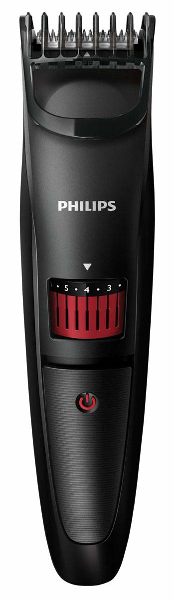 Philips QT4005/15 триммерQT4005/15Создавайте стильные образы с помощью триммера для бороды Philips QT4005/15. Точное подравнивание от 0,5 мм до 10 мм. Просто поверните колесико для выбора и фиксации нужной установки длины: от установки для трехдневной щетины 0,5 мм до длинной бороды 10 мм (шаг 0,5 мм). Идеальное подравнивание и защита кожи день за днем. Стальные лезвия триммера всегда остаются такими же острыми, как и в первый день использования: они затачиваются самостоятельно, слегка касаясь друг друга во время работы прибора. Лезвия всегда остаются очень острыми и гарантируют быструю и аккуратную стрижку, а закругленные края и гребни предотвращают раздражение кожи. Работа только от аккумулятора. До 45 минут автономной работы после 10 часов зарядки. Удобно держать и использовать — конструкция прибора позволяет обрабатывать даже труднодоступные участки. Для удобства при очистке снимите головку и промойте под струей воды. Прежде чем снова...