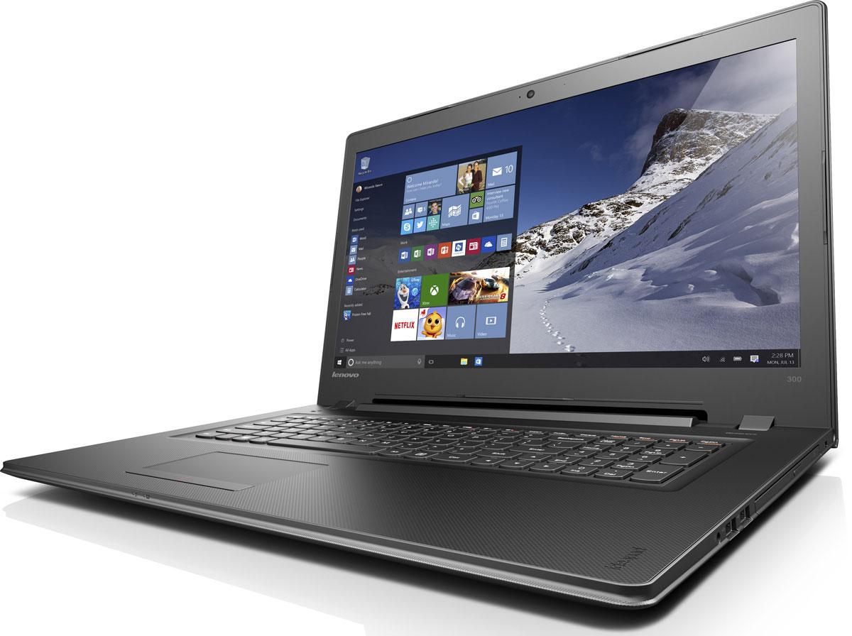 Lenovo IdeaPad 300-17ISK, Black (80QH009QRK)80QH009QRKLenovo IdeaPad 300 объединяет все необходимые характеристики в одном устройстве начального уровня: стабильная производительность, большой объем оперативной памяти и накопителя, высококлассный дисплей. 17,3-дюймовый широкоформатный дисплей стандарта HD с соотношением сторон 16:9 и разрешением 1600 х 900 обеспечивает четкость и яркость изображения. Современный процессор Intel Pentium 4405U обеспечивает высочайшую производительность. Дискретная видеокарта AMD Radeon R5M330 подарит возможности, необходимые для создания видео и редактирования фотографий. Ноутбук Ideapad 300 оснащен встроенным модулем Wi-Fi 802.11 a/c, что обеспечит молниеносную скорость для веб- серфинга, воспроизведения потокового видео и загрузки файлов. Скорость передачи данных стандарта Wi-Fi 802.11 a/c почти в три раза выше, чем 802.11 b/g/n. На ноутбук Lenovo IdeaPad 300 установлена обновленная версия уже знакомой Windows. Меню Пуск вернулось и стало лучше,...
