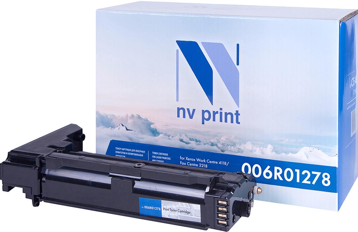 NV Print 006R01278, Black тонер-картридж для Xerox WC 4118NV-006R01278Совместимый лазерный картридж NV Print 006R01278 для печатающих устройств Xerox WC 4118 - это альтернатива приобретению оригинальных расходных материалов. При этом качество печати остается высоким. Картридж обеспечивает повышенную чёткость чёрного текста и плавность переходов оттенков серого цвета и полутонов, позволяет отображать мельчайшие детали изображения. Лазерные принтеры, копировальные аппараты и МФУ являются более выгодными в печати, чем струйные устройства, так как лазерных картриджей хватает на значительно большее количество отпечатков, чем обычных. Для печати в данном случае используются не чернила, а тонер.