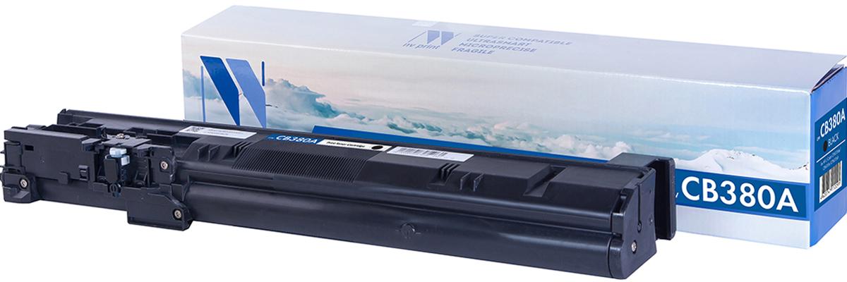 NV Print CB380A, Black тонер-картридж для HP LaserJet Color CP6015dn/CP6015n/CP6015x/CP6015xhCB380AСовместимый лазерный картридж NV Print CB380A для печатающих устройств HP - это альтернатива приобретению оригинальных расходных материалов. При этом качество печати остается высоким. Лазерные принтеры, копировальные аппараты и МФУ являются более выгодными в печати, чем струйные устройства, так как лазерных картриджей хватает на значительно большее количество отпечатков, чем обычных. Для печати в данном случае используются не чернила, а тонер.