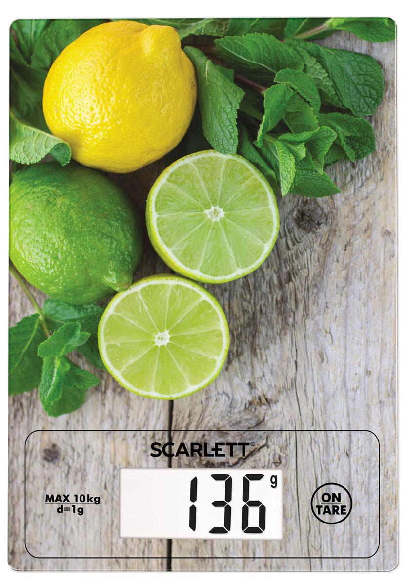 Scarlett SC-KS57P21, Lime Mint весы кухонныеSC-KS57P21Весы кухонные, электронные, 10 кг