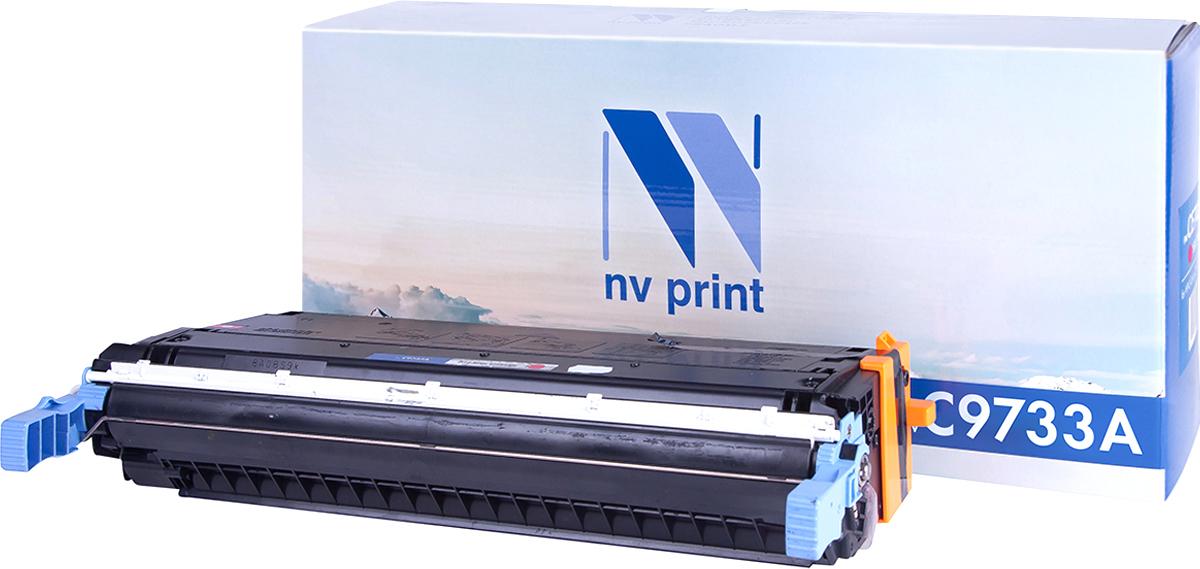 NV Print C9733AM, Magenta тонер-картридж для HP Color LaserJet 5500/5550NV-C9733AMСовместимый лазерный картридж NV Print NV-C9733AM для печатающих устройств HP - это альтернатива приобретению оригинальных расходных материалов. При этом качество печати остается высоким. Картридж обеспечивает повышенную четкость изображения и плавность переходов оттенков и полутонов, позволяют отображать мельчайшие детали изображения. Лазерные принтеры, копировальные аппараты и МФУ являются более выгодными в печати, чем струйные устройства, так как лазерных картриджей хватает на значительно большее количество отпечатков, чем обычных. Для печати в данном случае используются не чернила, а тонер.