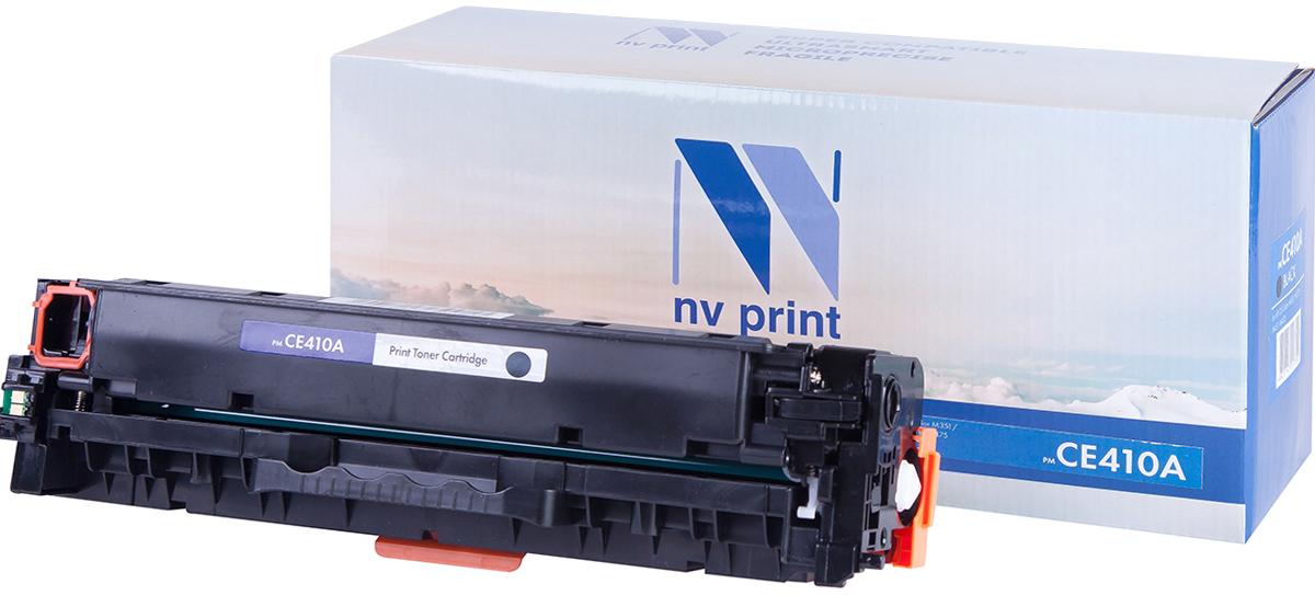 NV Print CE410ABk, Black тонер-картридж для HP Color LaserJet Color M351/M451/MFP M375/MFP M475NV-CE410ABkСовместимый лазерный картридж NV Print CE410ABk для печатающих устройств HP - это альтернатива приобретению оригинальных расходных материалов. При этом качество печати остается высоким. Картридж обеспечивает повышенную чёткость чёрного текста и плавность переходов оттенков серого цвета и полутонов, позволяет отображать мельчайшие детали изображения. Лазерные принтеры, копировальные аппараты и МФУ являются более выгодными в печати, чем струйные устройства, так как лазерных картриджей хватает на значительно большее количество отпечатков, чем обычных. Для печати в данном случае используются не чернила, а тонер.