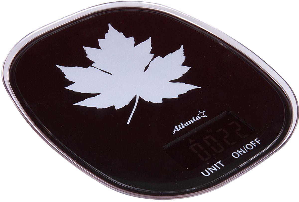 Atlanta ATH-6209, Black весы кухонныеATH-6209 blackЯркий ЖКИ дисплей нового поколения 58,6 x 28 мм Сенсорные кнопки Высокая точность взвешивания 1 г Функция обнуления веса Авто отключение Предел взвешивания 5 кг Переключение режимов: g/lb/oz/kg Индикатор слабых батареек Индикатор перегрузки Работает от 2 х 1,5 В батареек тип ААА