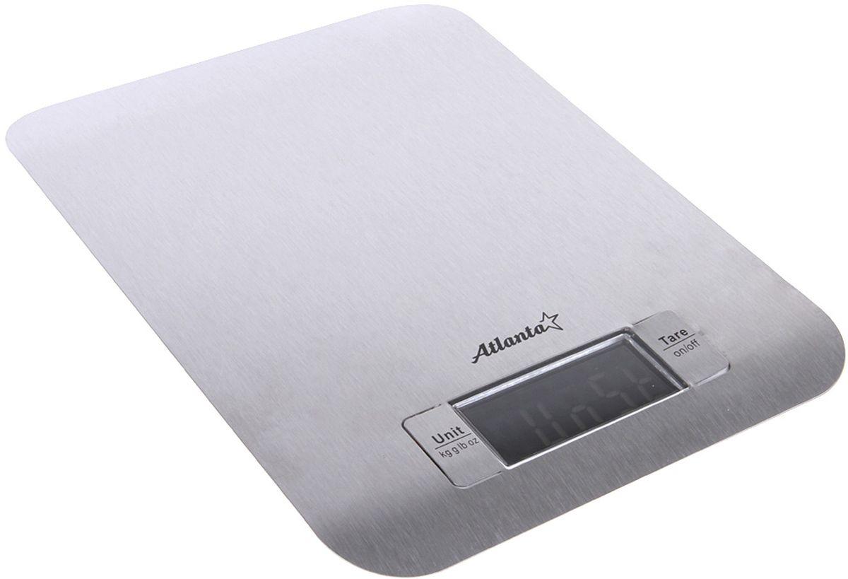 Atlanta ATH-6202, White весы кухонныеATH-6202 whiteЯркий ЖКИ дисплей нового поколения 59x28мм Тонкий корпус из нержавеющей стали Высокая точность взвешивания 1 г. Функция обнуления веса Функция сложный рецепт Авто отключение Предел взвешивания 5 кг Индикатор слабых батареек Индикатор перегрузки Работает от 2Х3V батареек тип CR2032.