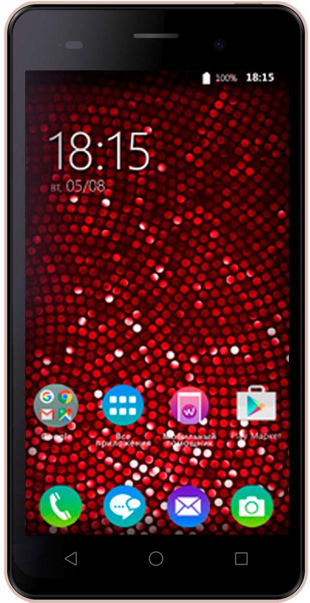 BQ 5020 Strike SE, Rose Gold Brushed46613410Смартфон BQ Strike SE позволит вам работать с любыми необходимыми приложениями, став надежным помощником и незаменимой развлекательной платформой. Тандем четырехъядерного процессора MediaTek MT6580 и проверенной операционной системы Android 6.0 обеспечивает стабильную работу устройства. Любимые игры и видеоролики станут еще детальнее и ярче. Наслаждайтесь отличной цветопередачей на пятидюймовом IPS-экране с HD разрешением 1280х720. Модель поддерживает одновременную работу двух SIM- карт, помогая экономить расходы на связь, а возможность добавить к 16 ГБ встроенной памяти еще 64 с помощью microSD позволят сохранить на телефоне все необходимое. Сохраните память обо всех важных событиях, используя оптику BQ Strike SЕ. Основная камера с разрешением 13 Мп позволит создавать ролики и снимки хорошего качества, а фронтальная подойдет для видеоконференций и селфи. Смартфон сертифицирован EAC и имеет русифицированный интерфейс меню и Руководство...