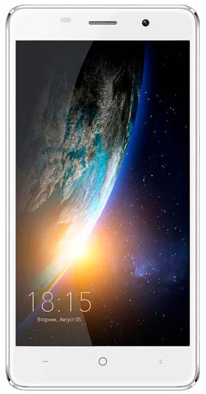 BQ 5022 Bond, White46612013Смартфон BQ 5022 Bond - это телефон, который можно не бояться уронить. Аппарат с 5-дюймовым IPS экраном оснащен защитным стеклом повышенной прочности, сделанному по технологии Military Bullet Proof. Благодаря встроенному сканеру отпечатков пальцев разблокировать экран BQ 5022 Bond можно одним прикосновением, при этом телефон остается надежно защищенным от несанкционированного проникновения. Батарея емкостью 2300 мАч позволит вам оставаться на связи в течении длительного времени без мыслей о подзарядке. Дисплей смартфона с HD разрешением 720х1280 воспроизводит фото и видеофайлы в формате высокой четкости, удивляя яркостью и цветопередачей изображения. Смартфон сертифицирован EAC и имеет русифицированный интерфейс меню и Руководство пользователя