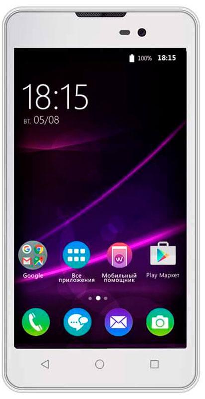 BQ 5065 Choice, White46611282BQ 5065 Choice - отличный бюджетный смартфон для повседневного использования не только ребенком, но и нетребовательным взрослым. Фактурное покрытие смартфона BQ Choice стилизованно под натуральную кожу. Крепкий, добротно выполненный корпус имеет толщину всего 9 мм. Основу технической начинки составляют четырехъядерный процессор MediaTek MTK6580, 1 ГБ оперативной памяти и 8 ГБ встроенной памяти. Оснащен 5-дюймовым IPS экраном с разрешением 854480 точек. Кроме того, смартфон имеет основную камеру 8 Мпикс со светодиодной вспышкой и фронтальную камеру 2 Мпикс. Смартфон сертифицирован EAC и имеет русифицированный интерфейс меню и Руководство пользователя