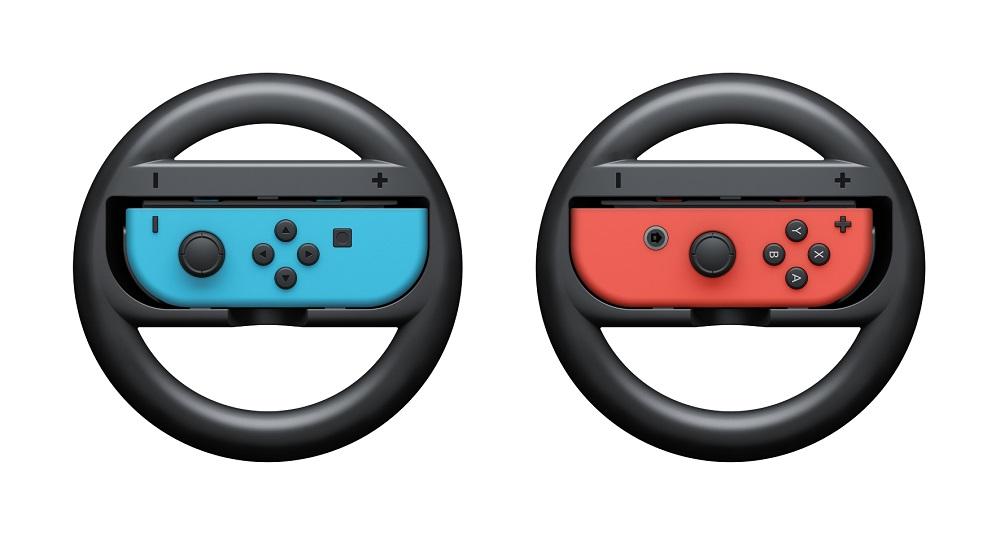 Nintendo Switch Joy-Con Wheel набор игровых рулей, 2 штACSWT6Прикрепите Joy-Con к этому контроллеру и почувствуйте себя за рулем автомобиля. Это отличный способ управления в гоночных играх. К контроллеру Nintendo Switch Joy-Con Wheel можно прикрепить как правый, так и левый Joy-Con. Примечание: оригинальный контроллер Joy-Con в комплект не входит.