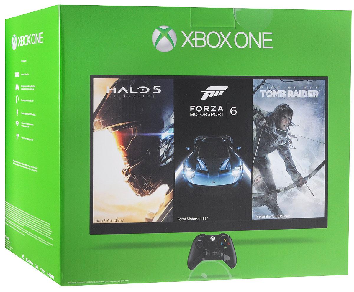 Игровая приставка Xbox One 1 TB + Quantum Break + Alan Wake5C6-00061-Q