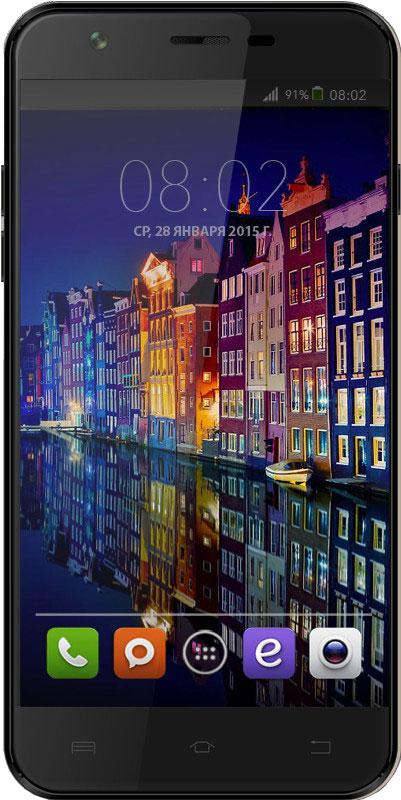 BQ 5505 Amsterdam, Black46608938BQ 5505 Amsterdam - яркие впечатления одним жестом! Смартфон станет для вас не только средством связи, но личным помощником, как в работе, так и на отдыхе. 13 Мпикс камера не пропустит все мгновения жизни. Curved Glass - защитное, изогнутое и закаленное стекло дисплея, предотвращает преломление лучей света для максимальной четкости и ясности изображения. Smart Wake Up - Умные жесты, версии 5.1, поможет повысить производительность простыми жестами. Весомым плюсом будет возможность - закрепить любой жест за любым приложением. Четырехъядерная архитектура процессора МТ6580 гарантирует использование нескольких приложений одновременно: видео, 3D игр, фото, музыки и почты в любом месте и в любое время. Большой дисплей 5.5 на базе IPS-матрицы с HD разрешением 1280x720 точек , отменной контрастностью и насыщенными цветами, позволит по-новому взглянуть на графические приложения. Смартфон сертифицирован EAC и имеет русифицированный...