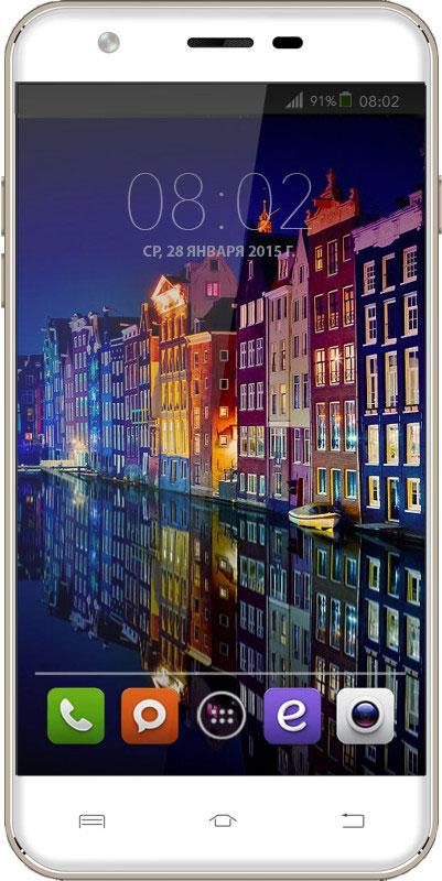 BQ 5505 Amsterdam, Silver46608948BQ 5505 Amsterdam - яркие впечатления одним жестом! Смартфон станет для вас не только средством связи, но личным помощником, как в работе, так и на отдыхе. 13 Мпикс камера не пропустит все мгновения жизни. Curved Glass - защитное, изогнутое и закаленное стекло дисплея, предотвращает преломление лучей света для максимальной четкости и ясности изображения. Smart Wake Up - Умные жесты, версии 5.1, поможет повысить производительность простыми жестами. Весомым плюсом будет возможность - закрепить любой жест за любым приложением. Четырехъядерная архитектура процессора МТ6580 гарантирует использование нескольких приложений одновременно: видео, 3D игр, фото, музыки и почты в любом месте и в любое время. Большой дисплей 5.5 на базе IPS-матрицы с HD разрешением 1280x720 точек , отменной контрастностью и насыщенными цветами, позволит по-новому взглянуть на графические приложения. Смартфон сертифицирован EAC и имеет русифицированный...