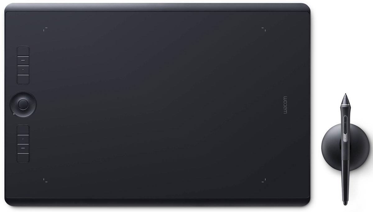 Wacom Intuos Pro Large графический планшет (PTH-860-R)4949268620611Wacom Intuos Pro — это триумф современных технологий. Это новые ощущения и результаты работы с пером Wacom Pro Pen 2. Это утонченный дизайн и беспроводное (bluetooth) соединение с ПК. Это вспомогательные клавиши Express Keys и сенсорное кольцо Touch Ring. Создавайте новое с новым Intuos Pro! Подключите Wacom Intuos Pro к своему компьютеру Mac или PC с Windows, используя USB-кабель или технологию Bluetooth, установите драйверы — и можете приступать к работе в любом творческом приложении. Новое перо Wacom Pro Pen 2 незамедлительно превратится в ваш любимый инструмент для творчества. Оно обладает повышенной чувствительностью, точностью и быстротой реакции по сравнению со всеми выпущенными ранее моделями. Корпус Wacom Intuos Pro сделан из высококачественных первоклассных материалов: черного анодированного алюминия и стекловолокнистого композитного пластика. Несмотря на толщину всего 8 мм, планшет на ощупь надежный и прочный. В...
