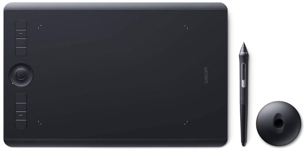 Wacom Intuos Pro Medium графический планшет (PTH-660-R)4949268620598Wacom Intuos Pro - это триумф современных технологий. Это новые ощущения и результаты работы с пером Wacom Pro Pen 2. Это утонченный дизайн и беспроводное (bluetooth) соединение с ПК. Это вспомогательные клавиши Express Keys и сенсорное кольцо Touch Ring. Создавайте новое с новым Intuos Pro! Подключите Wacom Intuos Pro к своему компьютеру Mac или PC с Windows, используя USB-кабель или технологию Bluetooth, установите драйверы - и можете приступать к работе в любом творческом приложении. Новое перо Wacom Pro Pen 2 незамедлительно превратится в ваш любимый инструмент для творчества. Оно обладает повышенной чувствительностью, точностью и быстротой реакции по сравнению со всеми выпущенными ранее моделями. Корпус Wacom Intuos Pro сделан из высококачественных первоклассных материалов: черного анодированного алюминия и стекловолокнистого композитного пластика. Несмотря на толщину всего 8 мм, планшет на ощупь надежный и прочный. В...