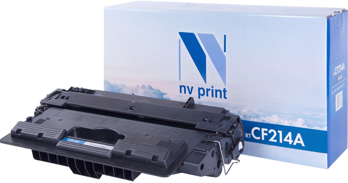 NV Print CF214A, Black тонер-картридж для HP LaserJet 700 MFP/M712NV-CF214AСовместимый лазерный картридж NV Print CF214A для печатающих устройств HP - это альтернатива приобретению оригинальных расходных материалов. При этом качество печати остается высоким. Картридж обеспечивает повышенную чёткость чёрного текста и плавность переходов оттенков серого цвета и полутонов, позволяет отображать мельчайшие детали изображения. Лазерные принтеры, копировальные аппараты и МФУ являются более выгодными в печати, чем струйные устройства, так как лазерных картриджей хватает на значительно большее количество отпечатков, чем обычных. Для печати в данном случае используются не чернила, а тонер.