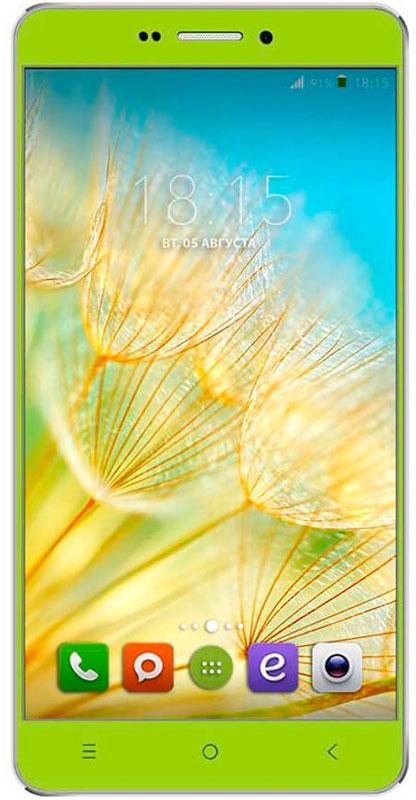 BQ 5515 Wide LTE, Green46611956BQ 5515 Wide LTE с 5,5 HD IPS дисплеем c разрешением 1280 на 720 точек совмещает в себе функции высокопроизводительного смартфона и планшета, поэтому станет незаменимым помощником не только в развлечениях, общении, серфинге, но и в учебе. Данная модель оснащена 4-х ядерным процессором MediaTek MT6735 LTE, который обладает широкими возможностями по работе с мультимедийными данными. Процессор разработан специально под современные тенденции в развитии виртуальной реальности с улучшенной графической составляющей, повышенной производительностью и оптимизированным энергопотреблением. BQS 5515 Wide работает под управлением современной версии ОС Android 5.1, обеспечивающей быстродействие всей системы. Поддержка смартфоном 4G LTE превратит использование мобильных приложений в бесконечное удовольствие. А чтобы его продлить, в устройство встроены современные функции по экономии энергопотребления в сочетании с ёмким аккумулятором 2800 мАч, которые...