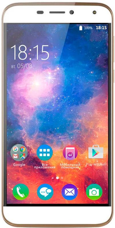 BQ 5520 Mercury LTE, Gold46611168BQ представляет новый смартфон Mercury. Устройство с идеальным балансом между современными технологиями и роскошным исполнением. Батарея емкостью 3650 мАч - это долгие часы работы без подзарядки, а значит, полная свобода в передвижении и общении. За сохранность личных данных отвечает передовая технология Fingerprint или сканер отпечатков пальцев. Забудьте о кодах блокировки, теперь для доступа в смартфон понадобиться только рисунок на вашем пальце. BQ Mercury оснащен 5,5-дюймовым дисплеем с высоким разрешением. Благодаря технологии HD IPS цвета приобретают невероятную реалистичность и яркость отображения. Закаленное стекло с эффектом 2.5D дает дополнительную прочность смартфону, создавая ощущение объемности. В арсенале BQ Mercury две камеры с разрешением 8 и 13 Мпикс. Каждая из них способна сделать снимок хорошего качества вне зависимости от того, делаете вы портрет, селфи или панорамную съемку. Аппаратная начинка модели...