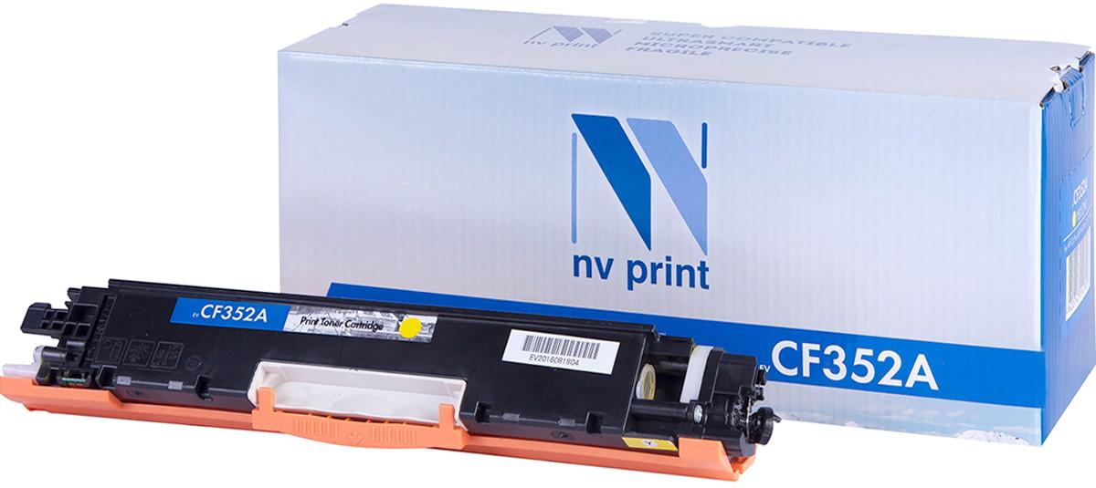 NV Print CF352AY, Yellow тонер-картридж для HP Color LaserJet Pro MFP 153/M176/M177NV-CF352AYСовместимый лазерный картридж NV Print CF352AY для печатающих устройств HP - это альтернатива приобретению оригинальных расходных материалов. При этом качество печати остается высоким. Картридж обеспечивает повышенную чёткость и плавность переходов оттенков цвета и полутонов, позволяет отображать мельчайшие детали изображения. Лазерные принтеры, копировальные аппараты и МФУ являются более выгодными в печати, чем струйные устройства, так как лазерных картриджей хватает на значительно большее количество отпечатков, чем обычных. Для печати в данном случае используются не чернила, а тонер.