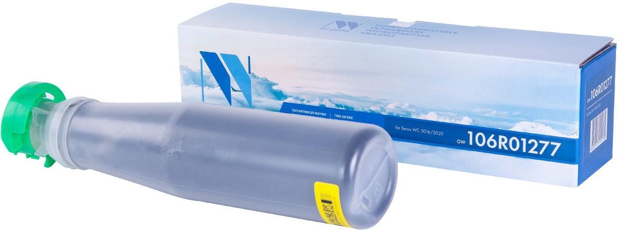 NV Print NV-106R01277, Black тонер-картридж для Xerox WorkCentre 5016/5020NV-106R01277Совместимый лазерный картридж NV Print NV-106R01277 для печатающих устройств Xerox - это альтернатива приобретению оригинальных расходных материалов. При этом качество печати остается высоким. Картридж обеспечивает повышенную чёткость чёрного текста и плавность переходов оттенков серого цвета и полутонов, позволяет отображать мельчайшие детали изображения. Лазерные принтеры, копировальные аппараты и МФУ являются более выгодными в печати, чем струйные устройства, так как лазерных картриджей хватает на значительно большее количество отпечатков, чем обычных. Для печати в данном случае используются не чернила, а тонер.