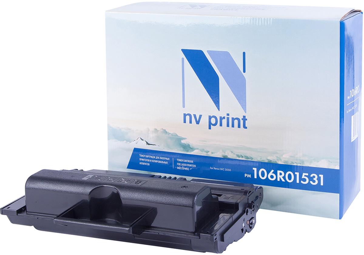 NV Print NV-106R01531, Black тонер-картридж для Xerox WorkCentre 3550NV-106R01531Совместимый лазерный картридж NV Print NV-106R01531 для печатающих устройств Xerox - это альтернатива приобретению оригинальных расходных материалов. При этом качество печати остается высоким. Картридж обеспечивает повышенную чёткость чёрного текста и плавность переходов оттенков серого цвета и полутонов, позволяет отображать мельчайшие детали изображения. Лазерные принтеры, копировальные аппараты и МФУ являются более выгодными в печати, чем струйные устройства, так как лазерных картриджей хватает на значительно большее количество отпечатков, чем обычных. Для печати в данном случае используются не чернила, а тонер.