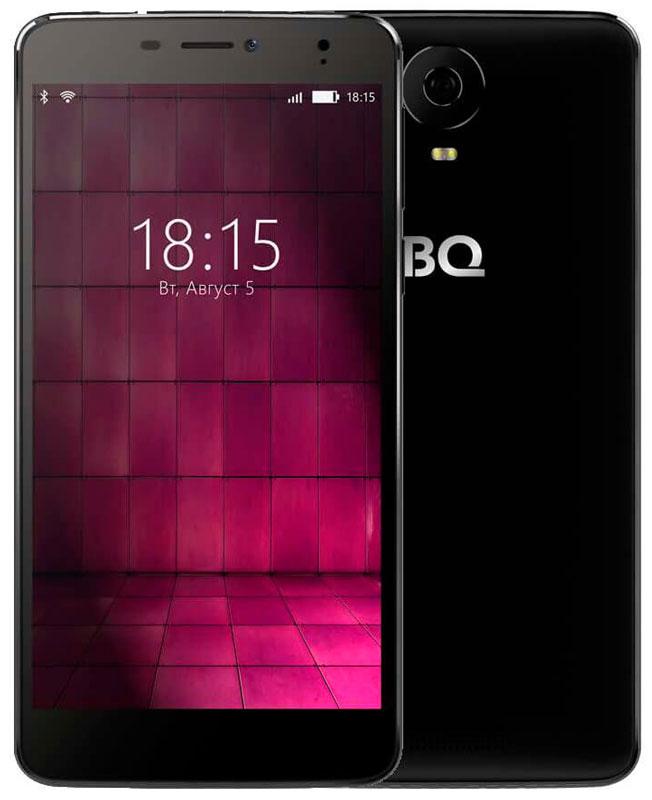 BQ 6050 Jumbo LTE, Black46612696Большой и мощный - таким BQ Mobile задумали смартфон BQ-6050 Jumbo, современный мультимедийный центр, помещающийся в кармане. Этот фаблет работает под управлением надежной операционной системы Android 6.0. Будь готов: он создан для тех, кто привык получать все и сразу! Перед тобой 6-дюймовый IPS-экран с отличной цветопередачей и HD-разрешением 1280х720. Но для максималистов этого недостаточно. Поэтому дисплей смартфона выполнен по технологии Full lamination, а значит, лишен воздушной прослойки между ЖК-панелью и защитным стеклом, что максимально приближает изображение к поверхности устройства. Нажми на кнопку – получишь результат! И не просто фотографию, а снимок отличного качества. Все благодаря основной камере с разрешением 16-мегапикселей, оснащенной автофокусом и вспышкой. Для селфи и видеозвонков воспользуйся фронтальной 8-мегапиксельной оптикой. Двухчасовой фильм, видеоконференция или любимая игра? Решай любые задачи, забыв о зарядке, ведь...