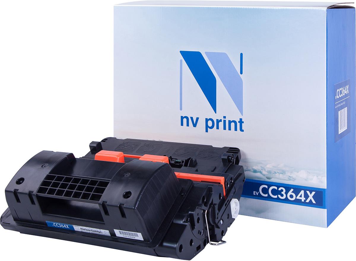 NV Print NV-CC364X, Black тонер-картридж для HP LaserJet P4015/P4515NV-CC364XСовместимый лазерный картридж NV Print NV-CC364X для печатающих устройств HP - это альтернатива приобретению оригинальных расходных материалов. При этом качество печати остается высоким. Картридж обеспечивает повышенную чёткость чёрного текста и плавность переходов оттенков серого цвета и полутонов, позволяет отображать мельчайшие детали изображения. Лазерные принтеры, копировальные аппараты и МФУ являются более выгодными в печати, чем струйные устройства, так как лазерных картриджей хватает на значительно большее количество отпечатков, чем обычных. Для печати в данном случае используются не чернила, а тонер.