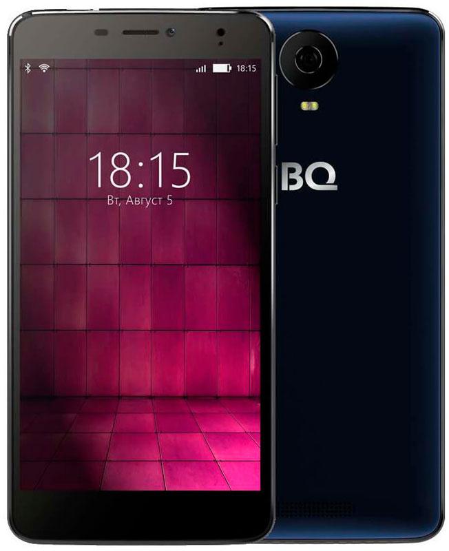 BQ 6050 Jumbo LTE, Dark Blue46612697Большой и мощный - таким BQ Mobile задумали смартфон BQ-6050 Jumbo, современный мультимедийный центр, помещающийся в кармане. Этот фаблет работает под управлением надежной операционной системы Android 6.0. Будь готов: он создан для тех, кто привык получать все и сразу! Перед тобой 6-дюймовый IPS-экран с отличной цветопередачей и HD-разрешением 1280х720. Но для максималистов этого недостаточно. Поэтому дисплей смартфона выполнен по технологии Full lamination, а значит, лишен воздушной прослойки между ЖК-панелью и защитным стеклом, что максимально приближает изображение к поверхности устройства. Нажми на кнопку - получишь результат! И не просто фотографию, а снимок отличного качества. Все благодаря основной камере с разрешением 16-мегапикселей, оснащенной автофокусом и вспышкой. Для селфи и видеозвонков воспользуйся фронтальной 8-мегапиксельной оптикой. Двухчасовой фильм, видеоконференция или любимая игра? Решай любые задачи, забыв о зарядке, ведь...