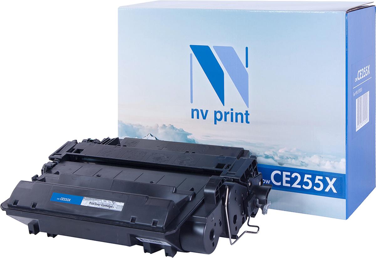 NV Print NV-CE255X, Black тонер-картридж для HP LaserJet Р3015/M525NV-CE255XСовместимый лазерный картридж NV Print NV-CE255X для печатающих устройств HP - это альтернатива приобретению оригинальных расходных материалов. При этом качество печати остается высоким. Картридж обеспечивает повышенную чёткость чёрного текста и плавность переходов оттенков серого цвета и полутонов, позволяет отображать мельчайшие детали изображения. Лазерные принтеры, копировальные аппараты и МФУ являются более выгодными в печати, чем струйные устройства, так как лазерных картриджей хватает на значительно большее количество отпечатков, чем обычных. Для печати в данном случае используются не чернила, а тонер.