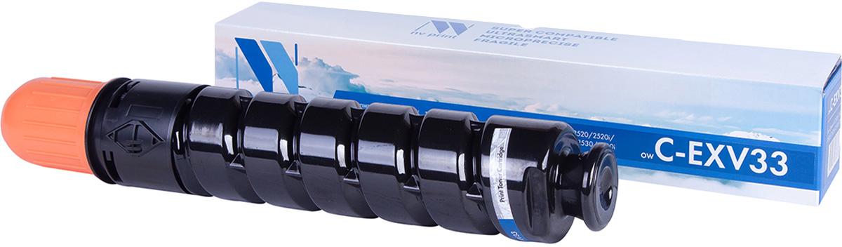 NV Print NV-CEXV33, Black тонер-туба для Canon iR2520/2525/2530NV-CEXV33Тонер NV Print NV-C4092A для печатающих устройств Canon - это альтернатива приобретению оригинальных расходных материалов. При этом качество печати остается высоким. Картридж обеспечивает повышенную чёткость чёрного текста и плавность переходов оттенков серого цвета и полутонов, позволяет отображать мельчайшие детали изображения. Лазерные принтеры, копировальные аппараты и МФУ являются более выгодными в печати, чем струйные устройства, так как лазерных картриджей хватает на значительно большее количество отпечатков, чем обычных. Для печати в данном случае используются не чернила, а тонер.