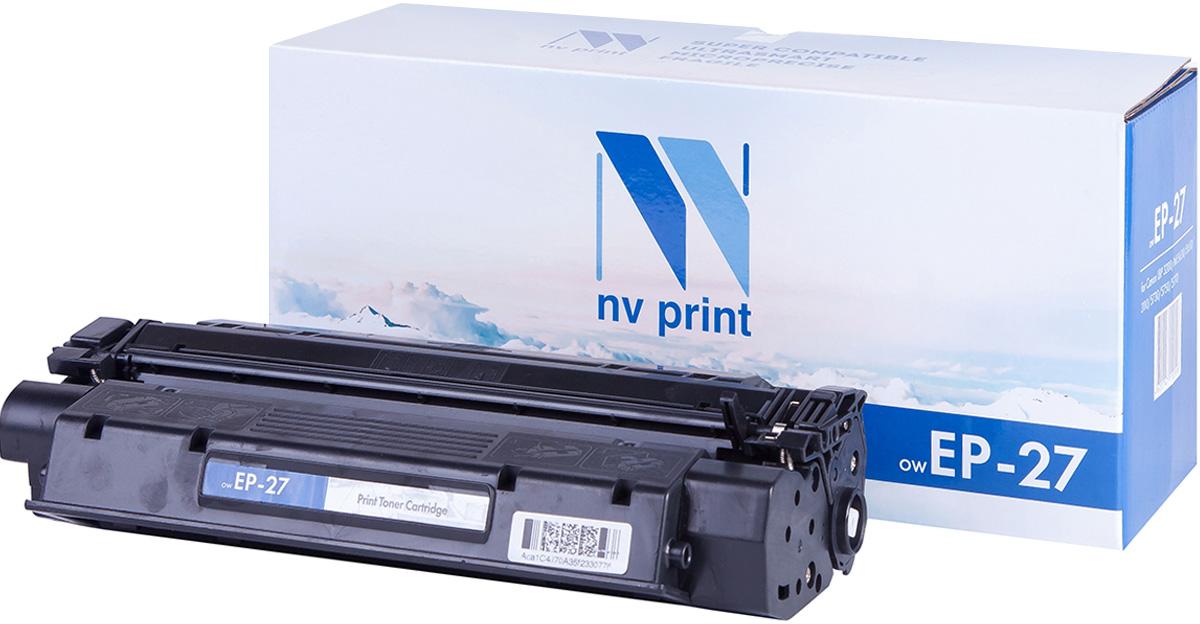 NV Print NV-EP27, Black тонер-картридж для Canon i-Sensys LBP 3200/MF5630/0/3110/5730/5750/5770NV-EP27Совместимый лазерный картридж NV Print NV-EP27 для печатающих устройств Canon - это альтернатива приобретению оригинальных расходных материалов. При этом качество печати остается высоким. Картридж обеспечивает повышенную чёткость чёрного текста и плавность переходов оттенков серого цвета и полутонов, позволяет отображать мельчайшие детали изображения. Лазерные принтеры, копировальные аппараты и МФУ являются более выгодными в печати, чем струйные устройства, так как лазерных картриджей хватает на значительно большее количество отпечатков, чем обычных. Для печати в данном случае используются не чернила, а тонер.