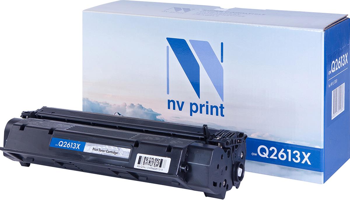 NV Print Q2613X, Black тонер-картридж для HP LaserJet 1300NV-Q2613XСовместимый лазерный картридж NV Print Q2613X для печатающих устройств HP LaserJet - это альтернатива приобретению оригинальных расходных материалов. При этом качество печати остается высоким. Картридж обеспечивает повышенную чёткость чёрного текста и плавность переходов оттенков серого цвета и полутонов, позволяет отображать мельчайшие детали изображения. Лазерные принтеры, копировальные аппараты и МФУ являются более выгодными в печати, чем струйные устройства, так как лазерных картриджей хватает на значительно большее количество отпечатков, чем обычных. Для печати в данном случае используются не чернила, а тонер.
