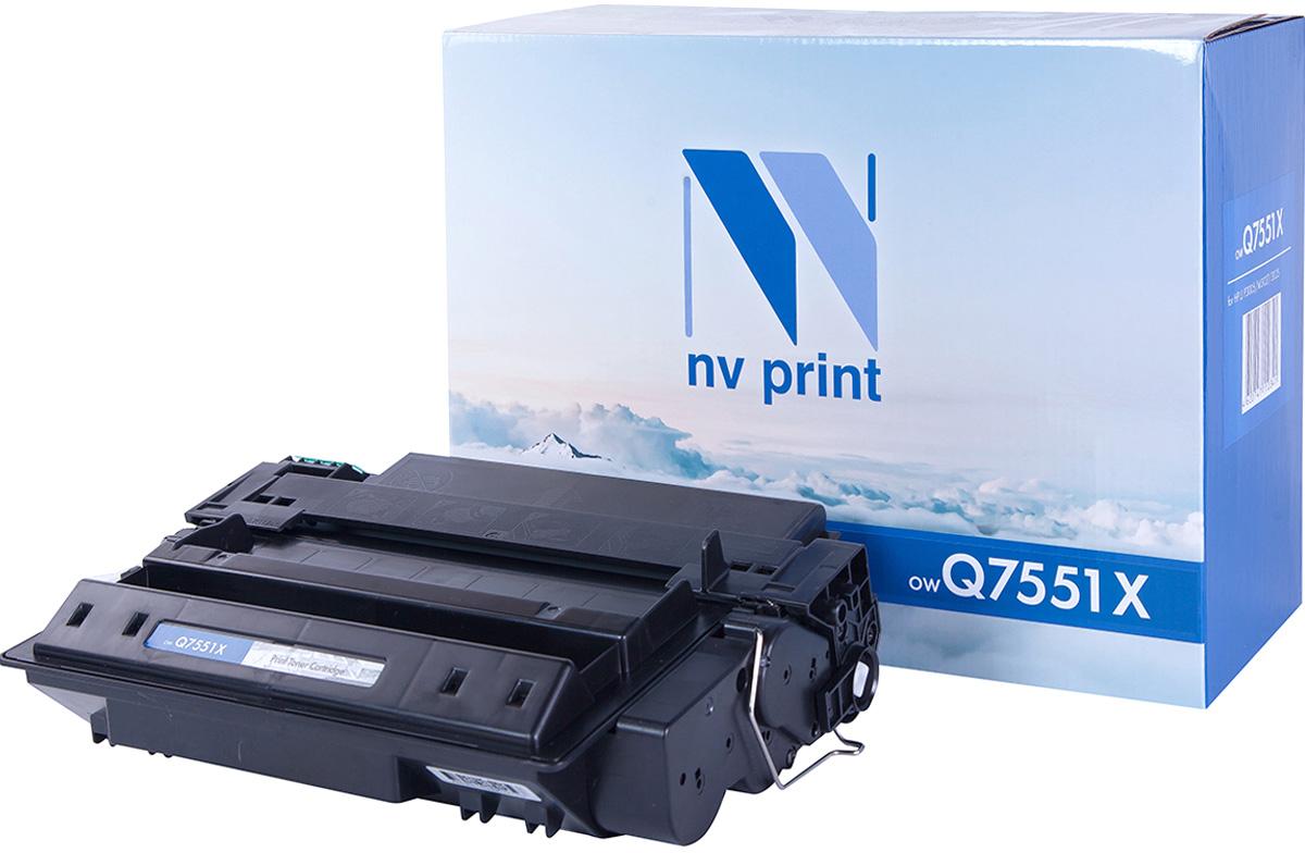 NV Print Q7551X, Black тонер-картридж для HP LaserJet P3005/M3035/M3027Q7551XСовместимый лазерный картридж NV Print Q7551X для печатающих устройств HP - это альтернатива приобретению оригинальных расходных материалов. При этом качество печати остается высоким. Картридж обеспечивает повышенную чёткость чёрного текста и плавность переходов оттенков серого цвета и полутонов, позволяет отображать мельчайшие детали изображения. Лазерные принтеры, копировальные аппараты и МФУ являются более выгодными в печати, чем струйные устройства, так как лазерных картриджей хватает на значительно большее количество отпечатков, чем обычных. Для печати в данном случае используются не чернила, а тонер.