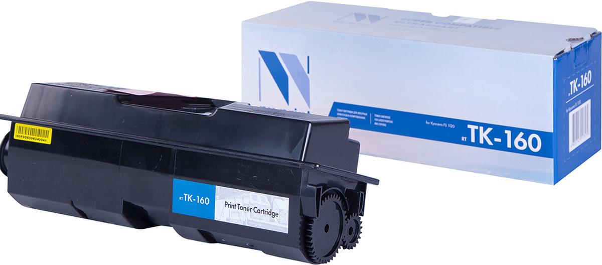 NV Print TK-160, Black тонер-картридж для Kyocera FS-1120D/1120/1120DNTK-160Совместимый лазерный картридж NV Print для печатающих устройств Kyocera - это альтернатива приобретению оригинальных расходных материалов. При этом качество печати остается высоким. Картридж обеспечивает повышенную чёткость чёрного текста и плавность переходов оттенков серого цвета и полутонов, позволяет отображать мельчайшие детали изображения. Лазерные принтеры, копировальные аппараты и МФУ являются более выгодными в печати, чем струйные устройства, так как лазерных картриджей хватает на значительно большее количество отпечатков, чем обычных. Для печати в данном случае используются не чернила, а тонер.