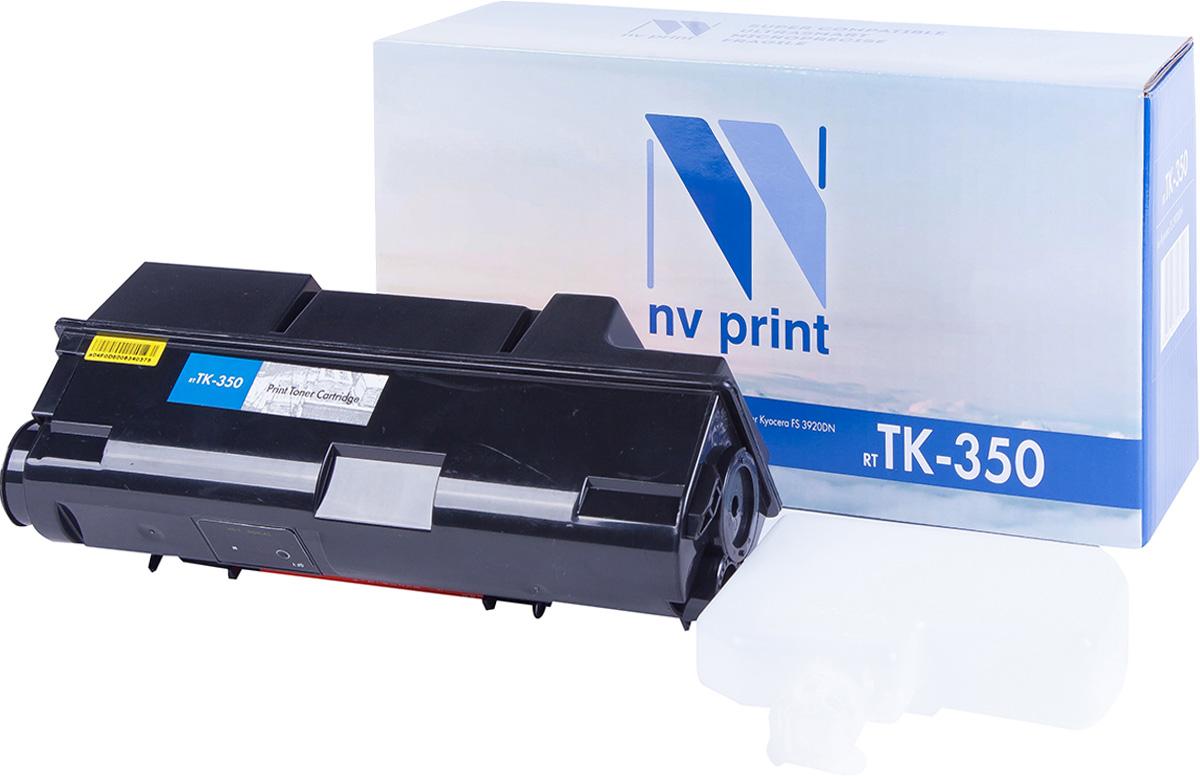 NV Print TK-350, Black тонер-картридж для Kyocera FS-3920DN/3040/3140MFP/3040MFP+/ 3140MFP+/3540MFP/3640MFPTK-350Совместимый лазерный картридж NV Print для печатающих устройств Kyocera - это альтернатива приобретению оригинальных расходных материалов. При этом качество печати остается высоким. Картридж обеспечивает повышенную чёткость чёрного текста и плавность переходов оттенков серого цвета и полутонов, позволяет отображать мельчайшие детали изображения. Лазерные принтеры, копировальные аппараты и МФУ являются более выгодными в печати, чем струйные устройства, так как лазерных картриджей хватает на значительно большее количество отпечатков, чем обычных. Для печати в данном случае используются не чернила, а тонер.