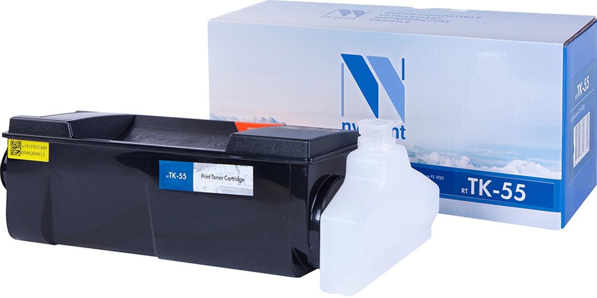 NV Print TK55, Black тонер-картридж для Kyocera FS-1920NV-TK55Совместимый лазерный картридж NV Print TK55 для печатающих устройств Kyocera - это альтернатива приобретению оригинальных расходных материалов. При этом качество печати остается высоким. Картридж обеспечивает повышенную чёткость чёрного текста и плавность переходов оттенков серого цвета и полутонов, позволяет отображать мельчайшие детали изображения. Лазерные принтеры, копировальные аппараты и МФУ являются более выгодными в печати, чем струйные устройства, так как лазерных картриджей хватает на значительно большее количество отпечатков, чем обычных. Для печати в данном случае используются не чернила, а тонер.