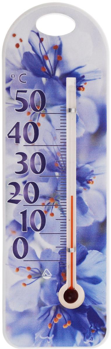 Термометр комнатный Стеклоприбор Сувенир. П-15300194_цветы в вазеТермометр комнатный Стеклоприбор Сувенир. П-15