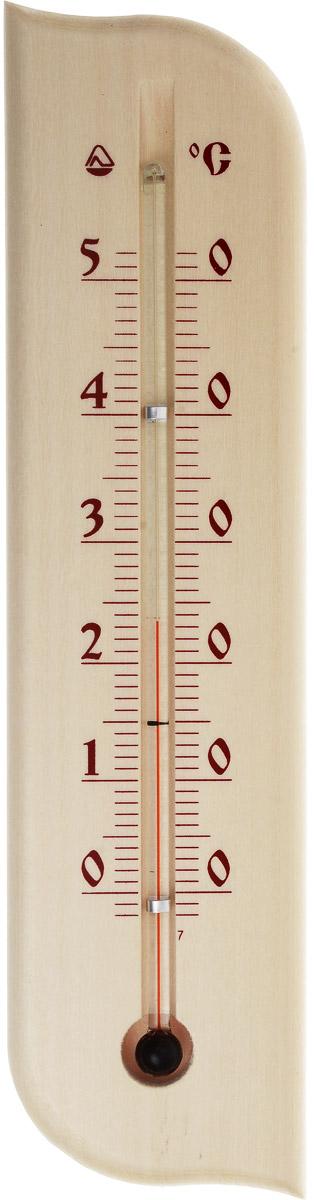 Термометр комнатный Стеклоприбор. Д-3-5300085Термометр комнатный Стеклоприбор применяется для измерения температуры воздуха в помещении. Термометр выполнен из дерева, а колба изготовлена из ударопрочного стекла. Термометр оснащен широкой, подробной и наглядной шкалой. Изделие имеет широкий рабочий диапазон - от 0 до +50°С со шкалой деления в 10°С. Цена деления составляет 1°С. Изделие имеет специальное отверстие для крепления. Не содержит ртути. Для хорошего самочувствия и здоровья идеальный микроклимат в доме создаст температура +18…+24°С.