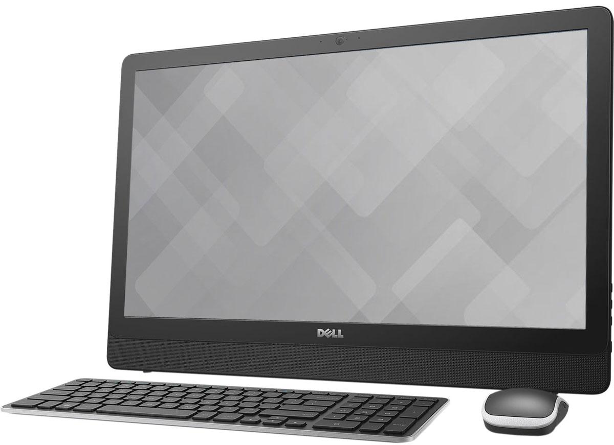 Dell Inspiron 3464-0599, Black моноблок3464-0599Dell Inspiron 3464 отличается дисплеем с диагональю 23,8 дюйма, широкими углами обзора и разрешением Full HD, встроенными динамиками и веб-камерой, адаптивной производительностью и привлекательным тонким корпусом. Это удобный настольный компьютер все в одном, который станет отличной покупкой для всей семьи. Откидная подставка и конструкция, предусматривающая использование всего одного кабеля, позволяют быстро и легко разместить компьютер в любом помещении. Черный корпус компьютера Dell Inspiron 3464 с невероятно тонкой панелью и выполненные в едином стиле с корпусом клавиатура и мышь прекрасно дополнят любой интерьер. Оцените совершенно новый уровень фильмов и игр благодаря процессору Intel Core i3-7100U. Мощный графический адаптер, высочайшая производительность и потрясающее качество изображения выводят мультимедийные возможности компьютера на новый уровень. Dell Inspiron 3464 с дисководом оптических дисков и жестким диском...