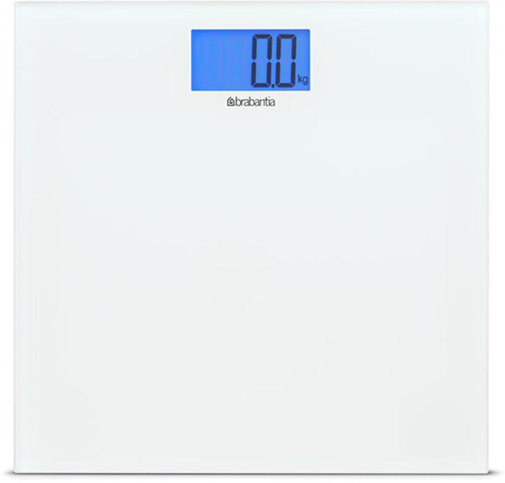 Напольные весы Brabantia, для ванной комнаты. 483127483127Стильные весы современный дизайн в сочетании с высокой точностью. Простые и удобные в эксплуатации весы с широкой платформой и большим дисплеем с подсветкой. Включаются втоматически после простого прикосновения. Автоматическое отключение питания для экономии энергии батарей. Изготовлены из прочных и стойких к коррозии материалов. Надежные защитные противоскользящие колпачки придают весам устойчивости. Максимальная нагрузка - 180 кг. В комплекте 2 Литиевые батарейки CR2032/3V. Точность измерения - 0,1 кг. Гарантия 5 лет.