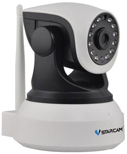 Vstarcam C8824WIP, White Black IP камера видеонаблюдения1600000360822Vstarcam C8824WIP - беспроводная поворотная IP камера с Full HD качеством видео, простой настройкой P2P, поддержкой карт памяти до 128 ГБ, а также возможностью просмотра с устройств Apple и Android. Данная модель имеет простое и понятное русскоязычное приложение для настройки, просмотра и управления всеми функциями камеры. Не требуется использовать статические IP адреса, вся работа с камерой максимально упрощена. Запись на карту Micro SD объемом до 128 ГБ происходит циклически, старые файлы автоматически стираются и меняются на новые. Есть возможность удаленного обращения к карте памяти через приложение. Камера может передавать тревожные сообщения на ваш телефон, планшет, компьютер. Выбирая Vstarcam C8824WIP, вы всегда будете в курсе событий. Vstarcam C8824WIP обладает современным дизайном, использовать ее можно как дома или в офисе, так и на производстве, складе или же для загородного дома.