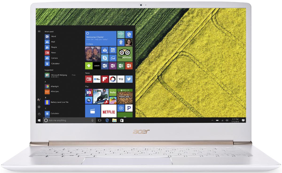 Acer Swift 5 SF514-51-57TN, WhiteSF514-51-57TNAcer Swift 5 SF514-51-57TN - портативный ноутбук с толщиной корпуса 14,58 мм и весом 1,36 кг. Клавиатура с подсветкой Благодаря подсветке клавиш вы можете продолжать работать даже вечером при тусклом освещении. Благодаря времени автономной работы 13 часов вы сможете работать целый день. Потоковые трансляции без задержек и скорость загрузки до пяти раз быстрее в сравнении стали доступны с решениями на базе технологии 802.11n. Технологии Acer TrueHarmony и Dolby Audio обеспечивают превосходную четкость звучания. Встроенный датчик отпечатка пальца совместим с Windows Hello, что позволяет выполнять безопасный вход в систему буквально одним касанием. Сохраняйте высокую производительность в течение всего дня с новейшими процессорами Intel и длительным временем автономной работы. Точные характеристики зависят от модели. Ноутбук сертифицирован EAC и имеет русифицированную клавиатуру и Руководство...