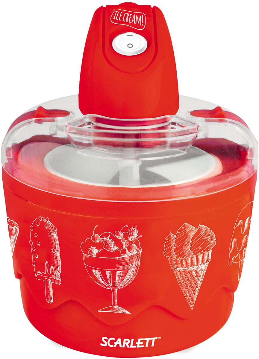 Scarlett SC-IM22255, Red мороженица