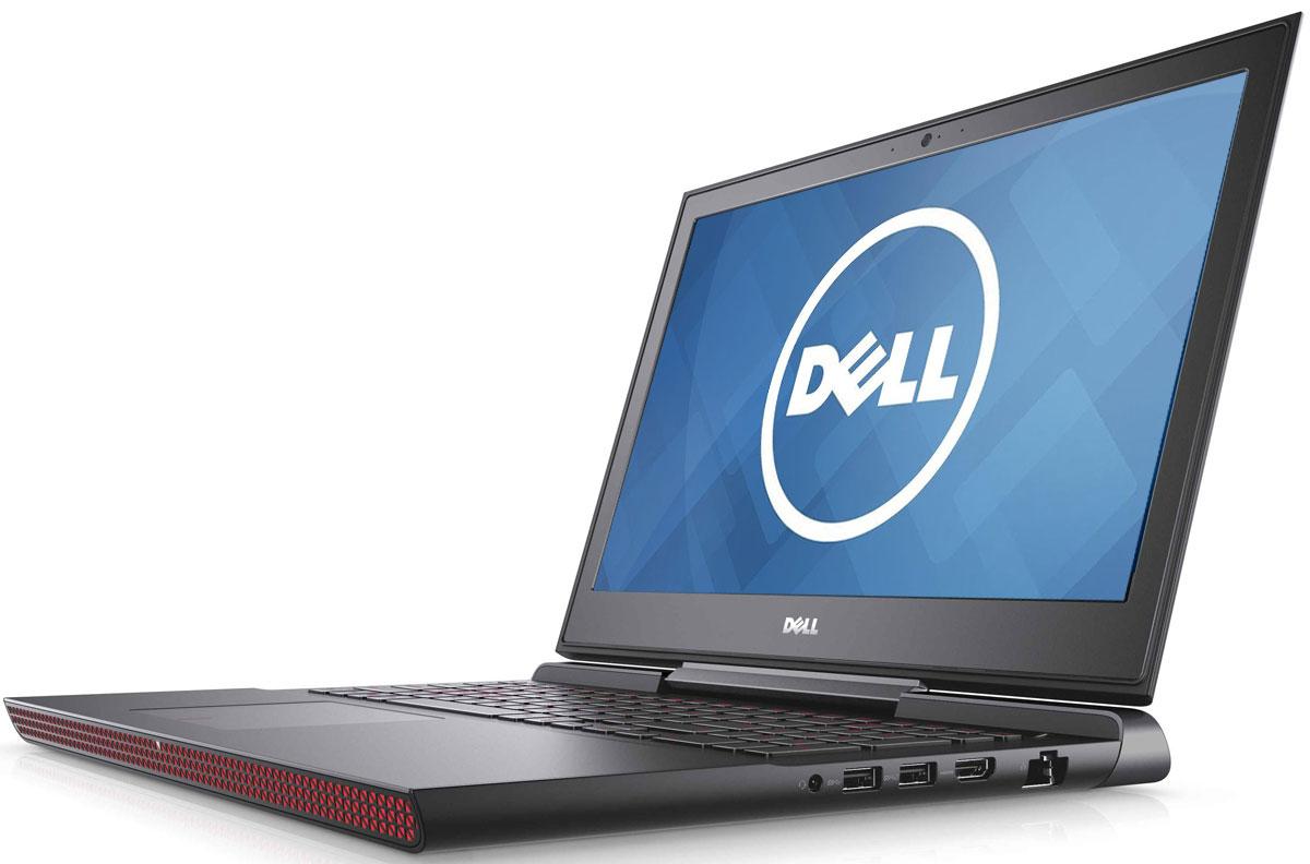 Dell Inspiron 7567, Black (7567-8814)7567-8814Получайте совершенно новые впечатления от развлечений, игр и видео с ноутбуком Dell Inspiron 15 благодаря мощному процессору Intel Core i5 седьмого поколения и графическому адаптеру NVIDIA GeForce GTX1050M. Наслаждайтесь изображением высочайшего качества на дисплее, выполненном по технологии IPS, с антибликовым покрытием. Этот дисплей поддерживает разрешение Full HD (1920x1080) и характеризуется широким узлом обзора. Предотвратите ошибочные нажатия клавиш с помощью клавиатуры с подсветкой, которая поможет вам играть или работать на компьютере даже в темноте. А чувствительная сенсорная панель обеспечит точную поддержку жестов с превосходным временем реакции. Погрузитесь в мир отличного звука с помощью технологии Waves MaxxAudio Pro. Разработанные корпорацией Dell широкополосные и низкочастотные динамики используют все возможности программного обеспечения для формирования звука студийного качества, поэтому вы не упустите ни малейшего...