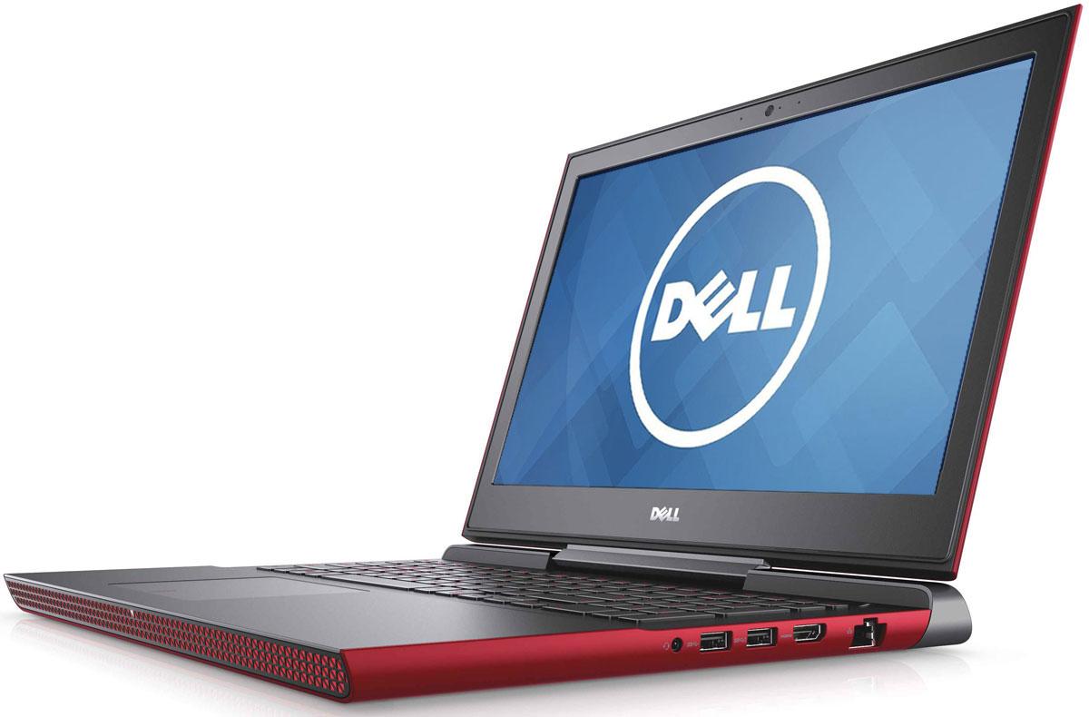 Dell Inspiron 7567, Red (7567-8920)7567-8920Получайте совершенно новые впечатления от развлечений, игр и видео с ноутбуком Dell Inspiron 15 благодаря мощному процессору Intel Core i5 седьмого поколения и графическому адаптеру NVIDIA GeForce GTX1050M. Наслаждайтесь изображением высочайшего качества на дисплее, выполненном по технологии IPS, с антибликовым покрытием. Этот дисплей поддерживает разрешение Full HD (1920x1080) и характеризуется широким узлом обзора. Предотвратите ошибочные нажатия клавиш с помощью клавиатуры с подсветкой, которая поможет вам играть или работать на компьютере даже в темноте. А чувствительная сенсорная панель обеспечит точную поддержку жестов с превосходным временем реакции. Погрузитесь в мир отличного звука с помощью технологии Waves MaxxAudio Pro. Разработанные корпорацией Dell широкополосные и низкочастотные динамики используют все возможности программного обеспечения для формирования звука студийного качества, поэтому вы не упустите ни малейшего...