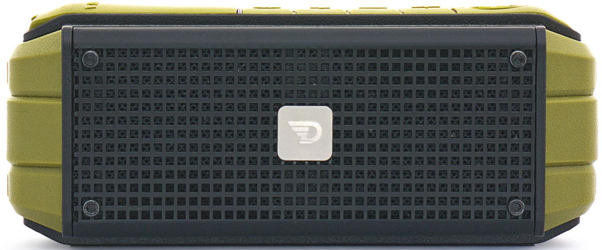 DreamWave Explorer портативная Bluetooth-колонка15119104DreamWave Explorer предназначен специально для экстремалов, ценящих высокое качество звучания. Модель способна передать звучание музыки именно так, как это задумывал исполнитель. Колонка обладает выходной мощностью в 15 Вт, она оборудована встроенным аккумулятором ёмкостью 6000 мАч, что позволяет ей играть громче и дольше в сравнении с конкурентами. Благодаря сочетанию передовых технологий и тончайших настроек звука, Explorer способен передать музыку во всей полноте, сохраняя её первозданную глубину и ясность. Если вам кто-то позвонит во время покорения Эвереста, то Explorer остановит воспроизведение музыки и позволит ответить на звонок, а по окончании разговора снова вернется к воспроизведению. Надежная конструкция, защита от воды/песка/пыли/снега уровня IPX5, компактный дизайн и прочное крепление для руля велосипеда с регулируемым резиновым держателем – всё это делает Explorer первоклассной колонкой для активного отдыха на природе.
