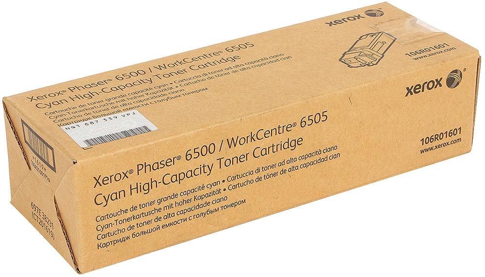 Xerox 106R01601, Cyan тонер-картридж для Phaser 6500/WorkCentre 6505106R01601Тонер-картридж Xerox 106R01601 для лазерных принтеров серии Phaser 6500/WorkCentre 6505. Специально разработан и протестирован для обеспечения наилучшего качества печати изображения. Вы можете рассчитывать на страницу за страницей.